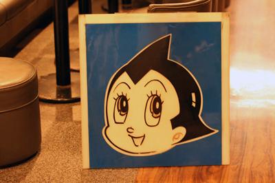 かつて手塚プロ御用達だった喫茶店「つかさ」でお宝発見。