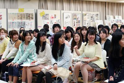 「東京アニメーションカレッジ」のオーディションに潜入。