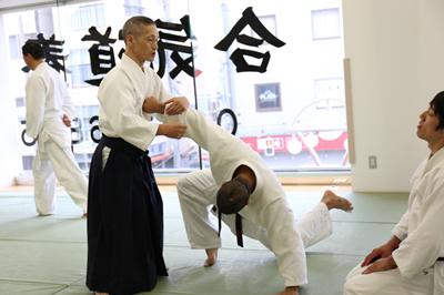 伝説の武道家の道場が高田馬場に「合気道養神館」。