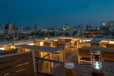 高田馬場に新名所「SOUNDS terrace」ビアガーデンがオープン!