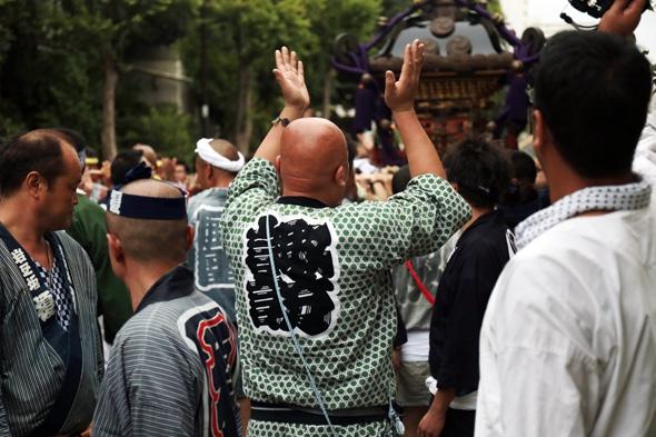 諏訪神社御神幸大祭 午後の部