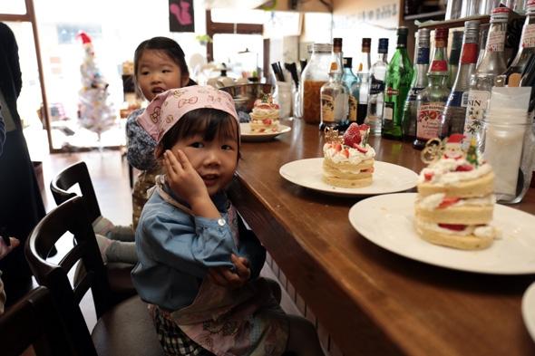 親子ケーキ作り教室
