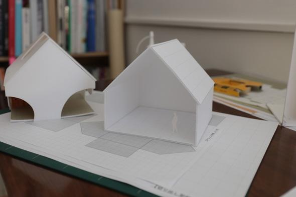 建築模型を作ります