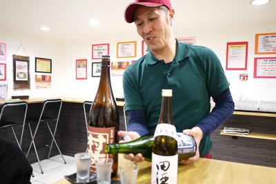 """いろいろ攻めまくってる蕎麦屋""""太閤""""で日本酒を嗜む。"""