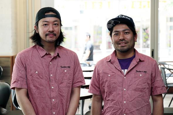 藤川さんと槇山さん