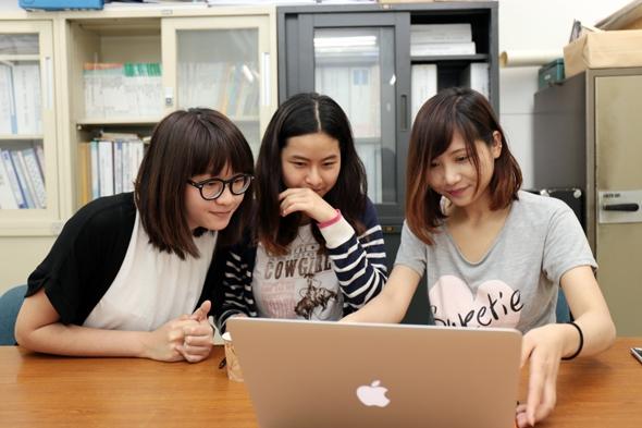 日本が大好きな3人