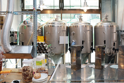 Made in 高田馬場のビールを日々醸造「高田馬場ビール工房」。