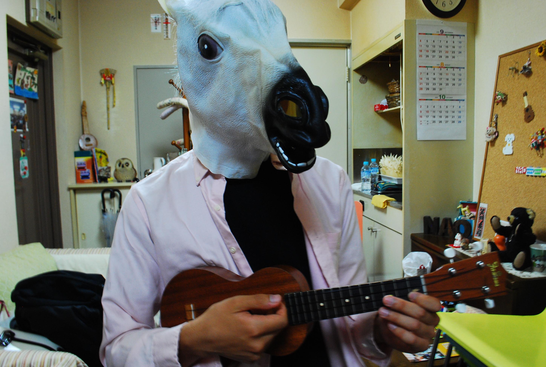 """ヒトマチ教室 第2弾 """"ババで馬にも人にも優しいウクレレを学ぶ"""""""
