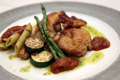 チキンが売りなフランス食堂のローストビーフ丼がアレな件