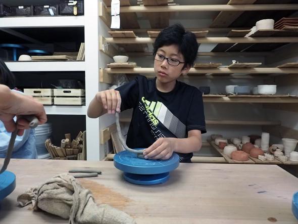 白紙舍の子ども陶芸教室
