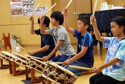 和太鼓サークル「たかに太鼓」を知っていますか?